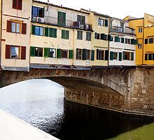 Calm Waters in Florence Italy - 1 by tamarakenyon