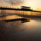 Southport Pier at Sunset by Dave McAleavy