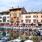 Harbor of Sirmione. Lombardia, Italy 2009 by Igor Pozdnyakov
