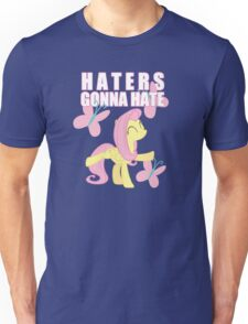 Fluttershy and butterflies Unisex T-Shirt