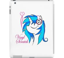 Vinyl Scratch (w/ smoke) iPad Case/Skin