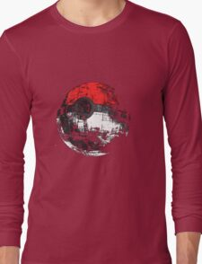 Pokemon Pokeball Long Sleeve T-Shirt