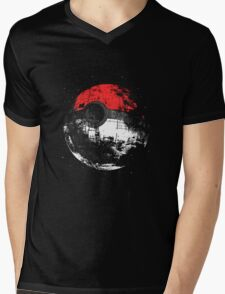 Pokemon Pokeball Mens V-Neck T-Shirt