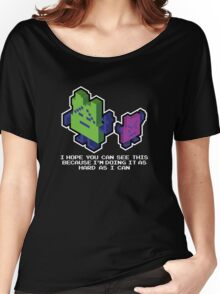 Ing and Err - The Mooninites  Women's Relaxed Fit T-Shirt