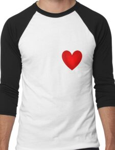 Have A Heart Men's Baseball ¾ T-Shirt