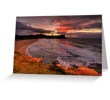 There Will Always Be A Avalon ! - Avalon Beach, Sydney - The HDR Experience Greeting Card