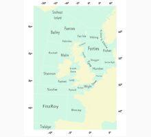 Shipping Forecast- Seaside colours Unisex T-Shirt
