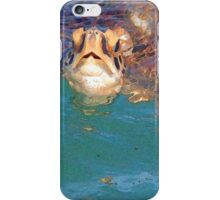 Sea Turtle art iPhone Case/Skin