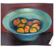 Apricot Bowl Poster