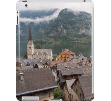 Evangelical Church of Christ and rooftops of Hallstatt iPad Case/Skin