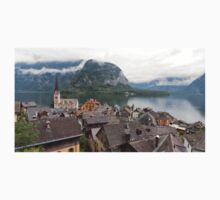 Evangelical Church of Christ and rooftops of Hallstatt Kids Clothes