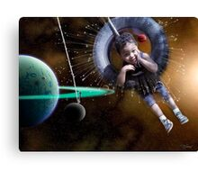 Astro-Projection Canvas Print