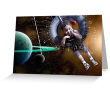 Astro-Projection Greeting Card