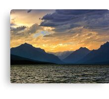 Lake MacDonald Evening Canvas Print