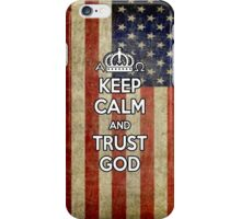 Religious Christian iPhone 4 Case Cover American Flag iPhone Case/Skin