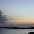 Sunset at the Jetty 2 by Sheryl Unwin