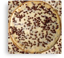 Chocolate Chip Cheesecake Canvas Print