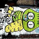 Graffiti Bird by MaggieGrace