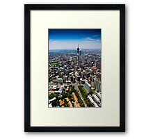 Aerial View of Jozi Framed Print