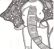 Elephant by adrchance