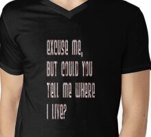 Ahhh... Mens V-Neck T-Shirt