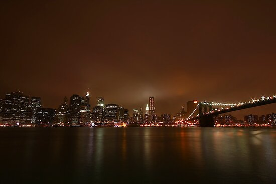 Big Apple Lights by Evelina Kremsdorf