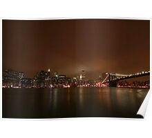 Big Apple Lights Poster