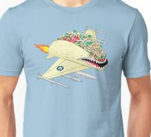 Taco Fighter Jet Unisex T-Shirt
