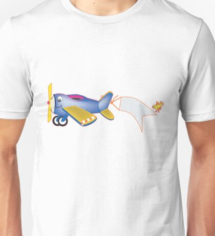 Tommy the Prop Plane Unisex T-Shirt
