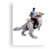 Spock rides the Tantan Canvas Print