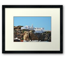 Our Lady Spiliani monastery, Nisyros Framed Print
