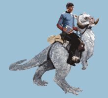 Spock rides the Tantan One Piece - Short Sleeve