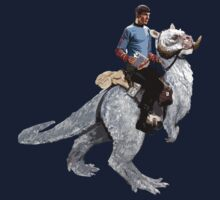 Spock rides the Tantan One Piece - Long Sleeve
