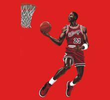 Michael Jordan Dunk by TheTeeShirtGuy