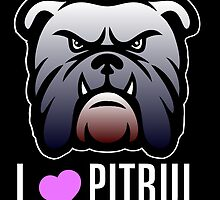 i love pitbul by creativecm