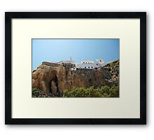 Monastery of Our Lady Spiliani, Nisyros Framed Print