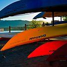 Kayak Tahoe by Phillip M. Burrow