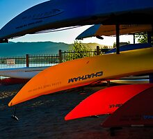 Kayak Tahoe by Phillip M. Burrow