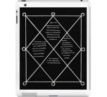 HOLOGRAM SAK YANT iPad Case/Skin