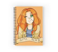 Amy Pond Spiral Notebook