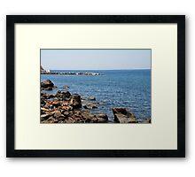 Mandraki coastline, Nisyros Framed Print
