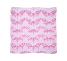Pink Butterfly Scarf