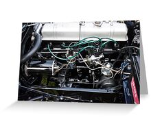Jensen Engine Greeting Card