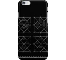 HOLOGRAM SAK YANT 4 UP iPhone Case/Skin
