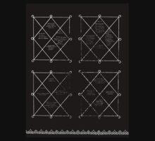 HOLOGRAM SAK YANT 4 UP T-Shirt
