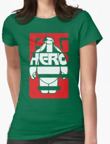 Fat Robot Buddy Womens Fitted T-Shirt