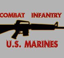Combat Infantry - U.S. Marines     Semper Fi by Buckwhite