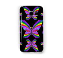 Butterfly Psychedelic Rainbow Samsung Galaxy Case/Skin