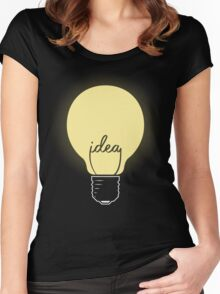 Idea! Women's Fitted Scoop T-Shirt