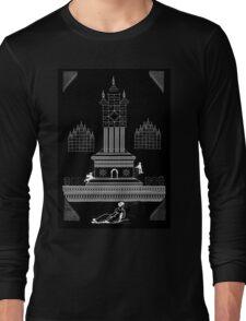 GIANT MATRIX HOLOGRAM Long Sleeve T-Shirt